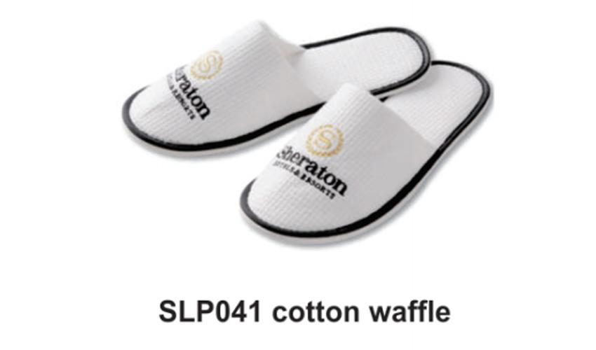 SLP041 cotton waffle